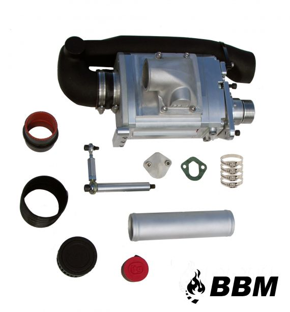 BBM G60 TWIN SCREW SUPERCHARGER KIT on vw gti 16v